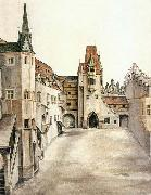 Courtyard of the Former Castle in Innsbruck without Clouds, Albrecht Durer
