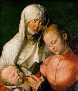 St Anne with the Virgin and Child, Albrecht Durer