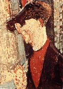Portrait of Franck Burty Haviland, Amedeo Modigliani