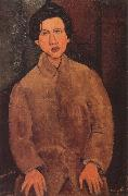 Portrait of Chaim Souting, Amedeo Modigliani