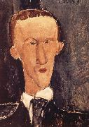 Portrait of Blaise Cendras, Amedeo Modigliani