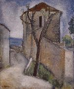 Amedeo Modigliani Tree and Houses oil painting reproduction