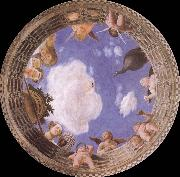 Detail of Ceiling from the Camera degli Sposi, Andrea Mantegna