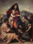 Holy famil and angel, Andrea del Sarto