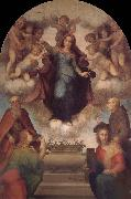 Angel around Virgin Mary, Andrea del Sarto