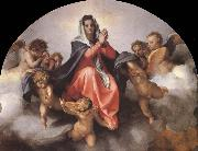 Details of the Assumption of the virgin, Andrea del Sarto