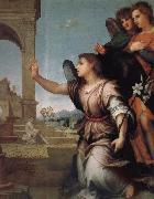 Announce in detail, Andrea del Sarto
