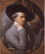 Sjalvportratt, Benjamin West