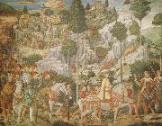 Benozzo Gozzoli Procession of the Magi oil painting on canvas