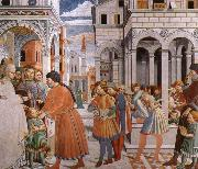 Scenes From the Life of St.Augustine, Benozzo Gozzoli