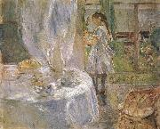 At the little cottage, Berthe Morisot