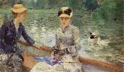 Berthe Morisot Summer day oil painting reproduction