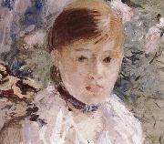 Berthe Morisot Detail of the  Woman near the window oil painting reproduction