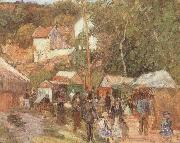A Fair at the Hermitage near Pontoisem, Camille Pissarro