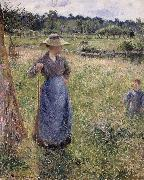 Camille Pissarro The Tedder oil painting reproduction