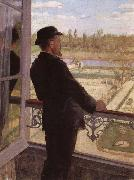 Portrait of the Artist Karl Nordstrom at Grez, Christian Krohg