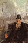 Paris Hackney Cab Driver, Christian Krohg