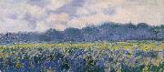 Field of Irses at Giverny, Claude Monet