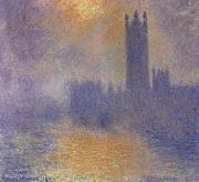 The Houses of Parliament, Claude Monet