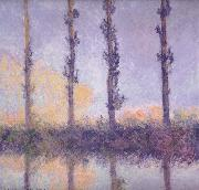 fFour Trees, Claude Monet