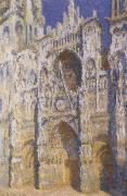 Rouen Cathedral in Brights Sunlight, Claude Monet