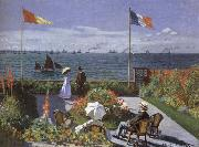 Terrace at Saint-Adresse, Claude Monet