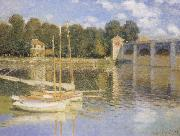 The Bridge at Argenteujil, Claude Monet