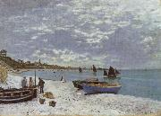 The Beach at Saint-Adresse, Claude Monet