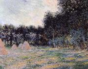 Field with Haystacks at Giverny, Claude Monet