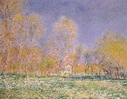 Springtime at Giverny, Claude Monet