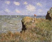 Clifftop Walk at Pourville, Claude Monet
