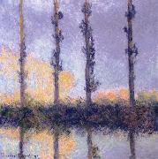 Four Trees, Claude Monet