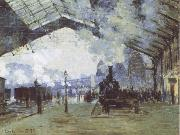 Claude Monet The Train from Normandy oil painting reproduction