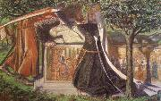 Dante Gabriel Rossetti Arthur-s Tomb oil painting reproduction
