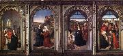 Triptych of the Virgin, Dieric Bouts