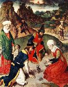 The Gathering of the Manna, Dieric Bouts