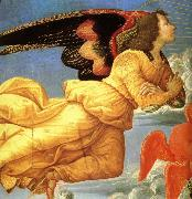Domenico Ghirlandaio Detail of christ in Glory oil painting