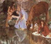 Mlle Eugenie Fiocre in the Ballet, Edgar Degas