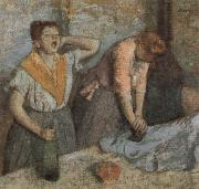 Women Ironing, Edgar Degas