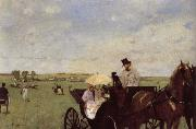 A Carriage at the Races, Edgar Degas