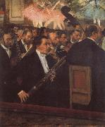 The Opera Orchestra, Edgar Degas