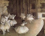 Rehearal of a Baller on Stage, Edgar Degas