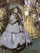 At Longchamp Racecourse, Edouard Manet