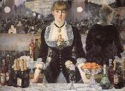 Edouard Manet The bar on the Folies-Bergere oil painting reproduction