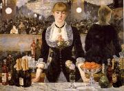 A Ba4 at the Folies-Bergere, Edouard Manet
