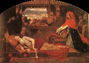 Ford Madox Brown Lear and Cordelia oil painting reproduction