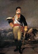 Portrait of Ferdinand VII, Francisco Jose de Goya