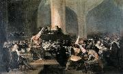 The Inquisition Tribunal, Francisco Jose de Goya