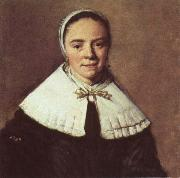 Frans Hals Portrait of a Lady oil painting reproduction