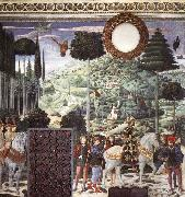 Procession of the Middle King, GOZZOLI, Benozzo